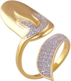 Silver Prince Designer Silver Cubic Zirconia Ring