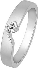 VelvetCase 950 Platinum Casual Rings in 4.22 gms Platinum Ring