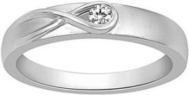 VelvetCase 950 Platinum Casual Rings in 3.35 gms Platinum Ring