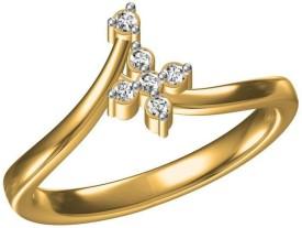 AG Jewellery Jagruti Sterling Silver Swarovski Crystal Ring