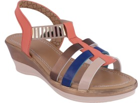 Smart Traders Women Multicolor Wedges