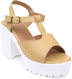 Stepee Women Beige Wedges