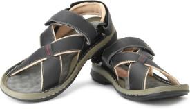 Lee Cooper Men BLACK P1 Sandals