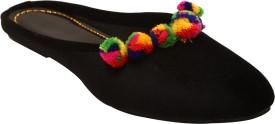 Foot Soul Women Black Flats