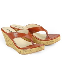 Nell Women Tan Wedges