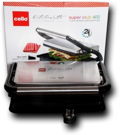 Cello Super Club 400 1500W Sandwich Maker
