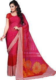 parchayee printed fashion georgette saree