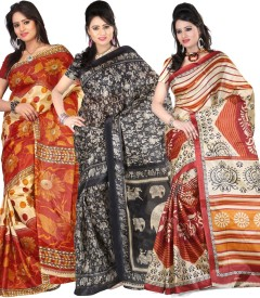 kajal sarees self design bollywood art silk saree