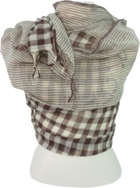 Dushaalaa Checkered wool Women's Scarf