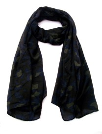 Lotusa Printed cotton Women's Scarf