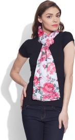 Very Me Floral Print Cotton Voile Women's Scarf