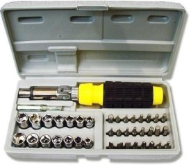 Ratchet Screwdriver Set (41 Pc)