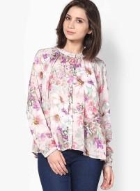Vero Moda Women's Floral Print Casual Shirt