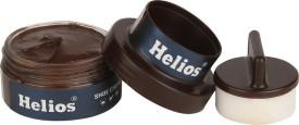 Helios SHOE CREAM(GLASS JAR)-BROWN Leather Shoe Cream(Brown)