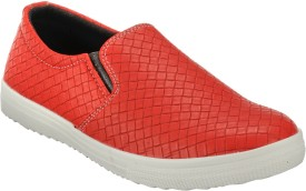 Zachho Latest Fashion Loafers(Red)