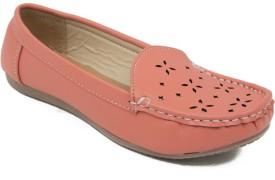 Adjoin Steps Loafers(Orange)