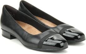 Clarks Keesha Rosa Black Leather Slip on