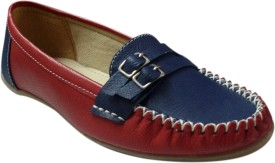 saffey Loafers(Blue, Red)