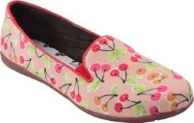 Refle'Te Women's Printed Canvas Shoes(Multicolor)