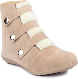 Moonwalk Boots(Beige)
