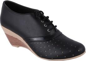 Style Buy Style Lace Up(Black)