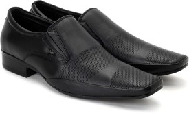 Lee Cooper Men Slip On Shoes(Black)