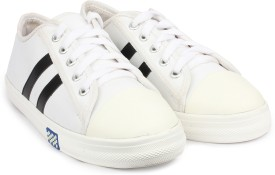 Shoetopia Canvas Shoes(White)