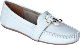 Shoe Cloud Loafers(White)