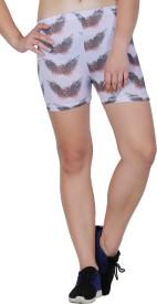 Lappel Du Vide Solid Women's Black Sports Shorts