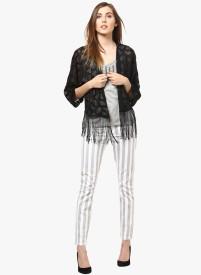 Vero Moda Self Design Single Breasted Casual Women's Blazer