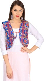 Vastraa Fusion Embroidered Women's Waistcoat