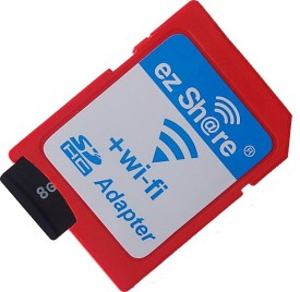 Ez Share 8GB MicroSDHC Class 10 (10MB/s) Memory Card (With Adapter)