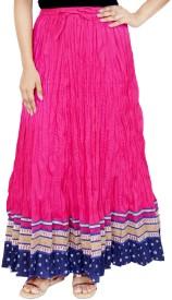 Rangreja Solid Women's A-line Skirt