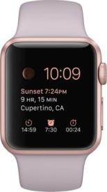 Apple Watch Sport Rose gold Aluminium case Lavender sport 38mm