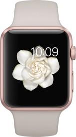 Apple Watch Sport Rose gold Aluminium case stone sport Band 42mm