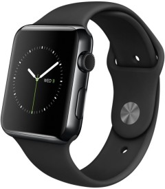 Apple Watch Space Black Stainless Steel Case with Black Sport Band 38mm