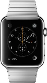 Apple Watch Sport Stainless Steel Case with Link Bracelet 42mm