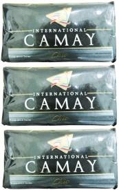 Camay International Fragrance Soap 125g*3