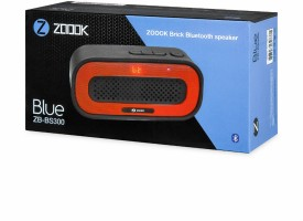 Zoook ZB-BS300 Brick Wireless Speaker
