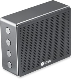 Zoook Rocker Chrome Metal Bluetooth Speaker