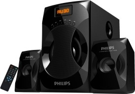 Philips Explode MMS4040F 2.1 Channel Multimedia Speakers