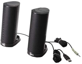 Dell - AX210CR USB Stereo Speakers