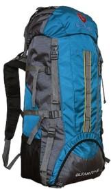 Gleam CLIMATE PROOF Mountain Trekking & Hiking BACKPACK(Blue, Rucksack)
