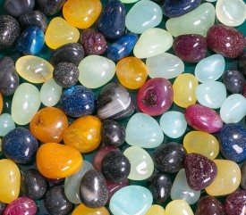 Decor Pebbles FSP017 Polished Asymmetrical Onyx Pebbles