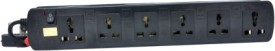 ProDot 6 Socket Single Button Spike Surge Protector (1.5 Mtr)
