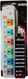 Tuscan TSC-035 6 Socket Spike Surge Protector (3 Mtr)