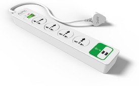 APC P4U2-IN 4 Strip (with 2 USB) Spike Surge Protector (1.5 Mtr)