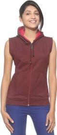 Threadz Sleeveless Solid Women's Sweatshirt
