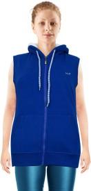 NGT Sleeveless Solid Women's Sweatshirt