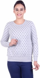 Kaily Full Sleeve Printed Women's Sweatshirt